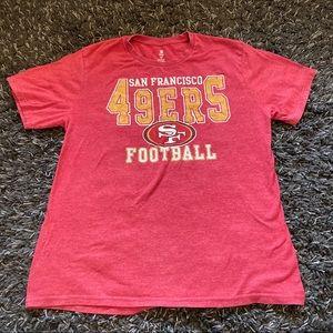 NFL team apparel San Francisco 49ers tee